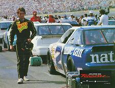 Photo NASCAR Daytona 500 speedway Mello Yello Days of Thunder Tom Cruise car