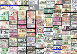 WORLD-BANKNOTES-ALL-MINT-UNC-ALL-JUST-99p-EACH-MULTI-LISTING