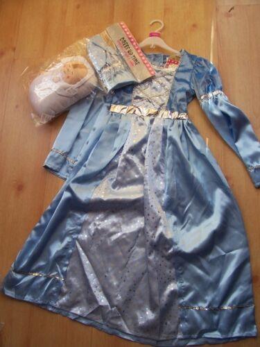 BNWT Natività Maria /& Bambin Gesù Costume 5-8 anni Vestito Cappello /& Baby