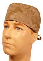 Digital Desert Camo Sweatband Scrub Cap Medical Dental Doctor Pediatrician Nurse
