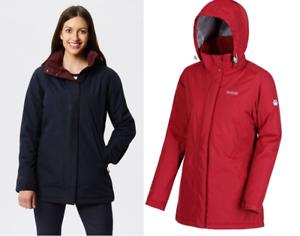 Regatta Womens Blanchet II Waterproof Jacket Ladies Outdoor Coat Hooded
