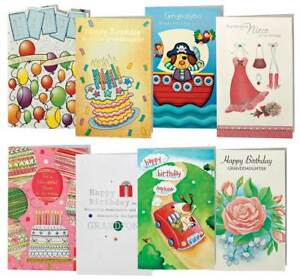Image Is Loading Children 039 S Birthday Cards Value Pack Of