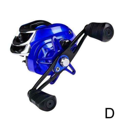 Metal Line Cup Angelrolle High Speed 18 1BB Kugellager Wassertropfenrad T2I9