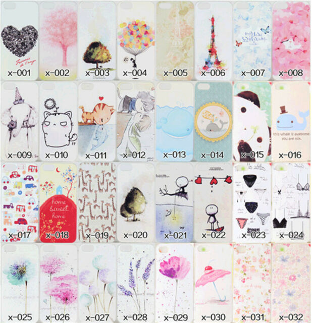 Charm Special Lovely Character Design Cover Skin Case For Apple iPhone 4/4S 5/5S
