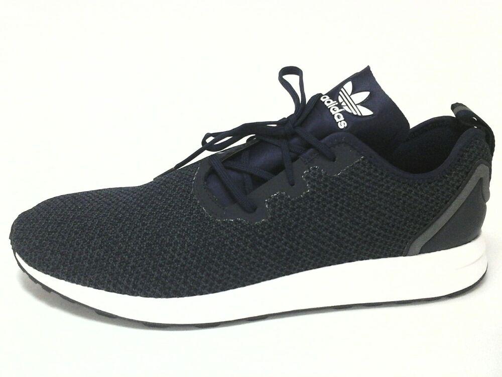 ADIDAS chaussures Bleu Knit Sneakers Modern Fashion fonctionnement homme US 12 EU 46 2/3 120