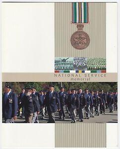 2010-STAMP-PRESENTATION-PACK-039-NATIONAL-SERVICE-MEMORIAL-039-MINI-SHEET-10-x-60c-MNH