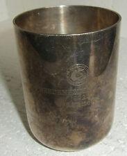Bredenbeker GoldPokal 1992, silverplated, E.P.Brass, ca:H 10,5cm,Dm 7,5cm, 337 g