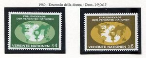 19312-UNITED-NATIONS-Vienna-1980-MNH-Women-Decade