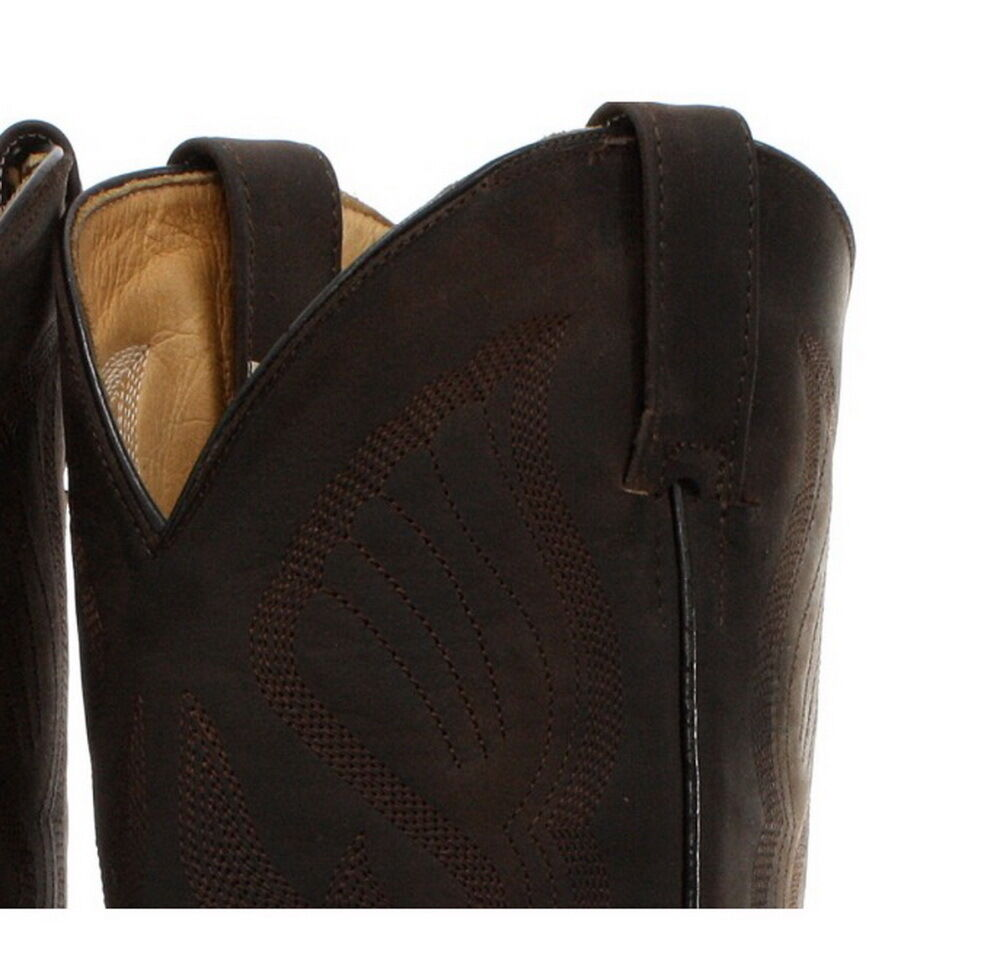Grinders Louisiana Brown Mens Cuban Heel Cowboy Cowboy Cowboy Leather Boots cf2cc4