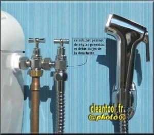 Douchette Robinet 3 Voies Flexible Anti Explosion Hygiene Hemorroide