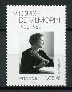 Francia-2019-estampillada-sin-montar-o-nunca-montada-Louise-de-Vilmorin-frances-novelista-1v-Set