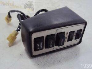 Details about 87 SUZUKI GV1400 Cavalcade 1400 PASSENGER RADIO CONTROL CB  FADER TRUNK