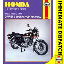 [0131] Honda CB750 CB750A CB750F CB750K SOHC Fours 1969-79 Haynes Workshop Manua
