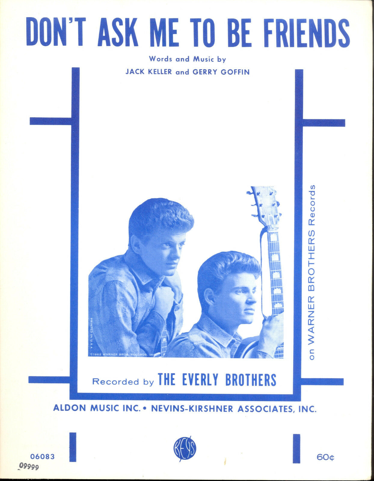 Everly Brothers Notenblatt   Don'T Ask Me To von Friends   1962