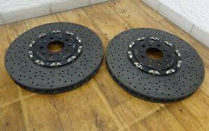 2-KERAMIKSCHEIBE-ASTON-MARTIN-DBS-DB9-V12-VANTAGE-Carbon-Ceramic-398-x-36-mm-VA