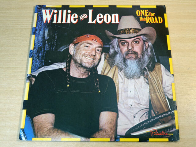 EX- !! Willie Nelson & Leon Russell/One For The Road/1979 Columbia 2x LP Set