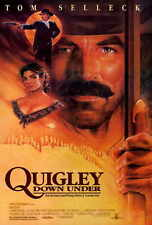 QUIGLEY DOWN UNDER Movie POSTER 27x40 B Tom Selleck Laura San Giacomo Alan