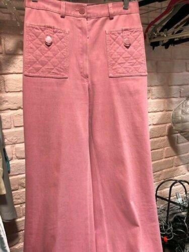 Chanel Pink Denim Chanel Jeans