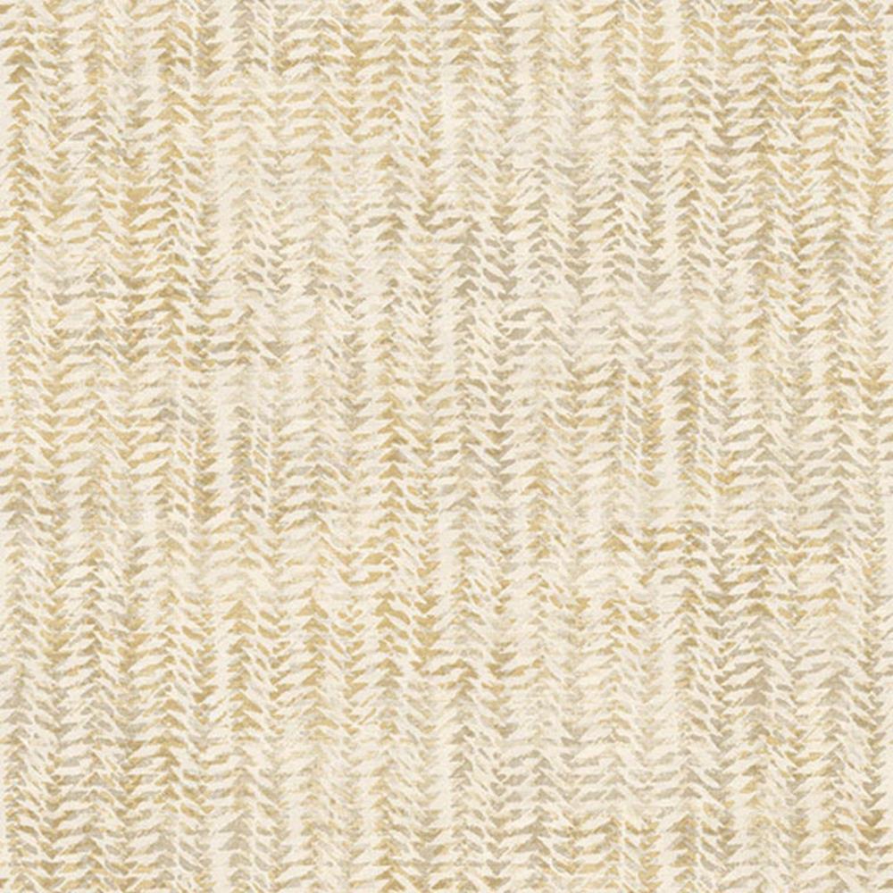 4051 - Luft Textureffekt Creme-Gold Galerie Tapete