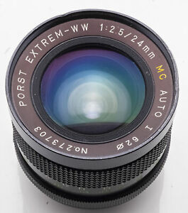 Porst-Extrem-WW-24mm-24-mm-1-2-5-2-5-MC-Auto-I-M42-Anschluss