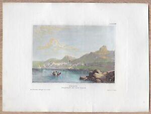 1838 Meyer print KYRENIA, CYPRUS (#10)