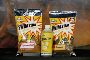 Dynamite Swim Stim F1 Sweet / F1 Sweet Cool Water Range - Pellet, Groundbait etc