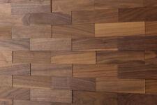 "Echtholz 3D Wandverkleidung ""Nussbaum"" wodewa Holzwand Paneele Wandgestaltung"