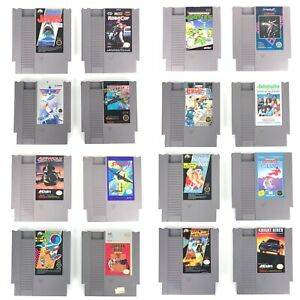 NES-Nintendo-Authentic-Game-Lot-Of-16-Tested-Working-Authentic