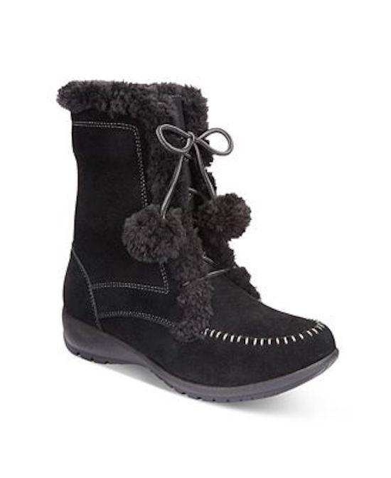 Sporto Maggie Waterproof Stiefel WOMEN Schuhe BLACK