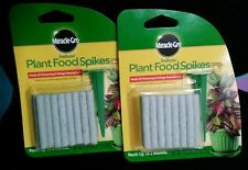 Miracle-Gro Indoor Plant Food 24 Spikes (2pk)