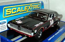 SCALEXTRIC C3536 1967 MERCURY COUGAR XR7 TRANS-AM  #14  DPR 1/32 SLOT CAR
