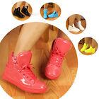 Women Men Shiny High Top Sport Shoe Waterproof Boot Dance Athletic Sneaker