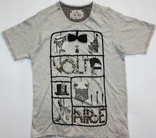 Men/'s Iconic Hip Hop /'Makaveli/' Signature Sequin T-Shirt Elvis Jesus