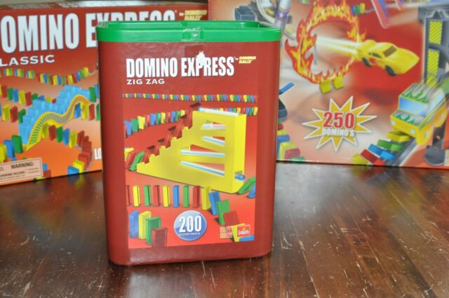 Goliath Domino Express: Classic, Speed, Zig Zag / 3er Set