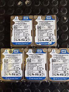 5XWESTERN-DIGITAL-HARD-DISK-2-5-034-SATA-160-GB-WD1600BEVT-75ZCT2-5400-RPM-NOTEBOOK