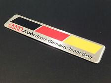 AUDI SPORT GERMANY FLAG TEAM GOH BADGE EMBLEM BOOT A3 A4 A5 A6 A8 S3 S4 FREE P&P