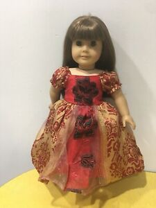 Fits 18 Ideal Crissy Doll Clothes Holiday Dress Yellow Party Gown Handmade Costume NO DOLL