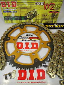Supersprox USA Sprocket Kit Rear Front YZF 450 YZ450F 03 05 07 08 10 11 12 14 16