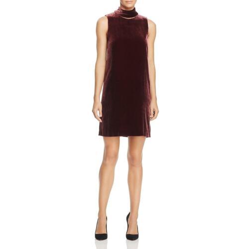 Theory Womens Velvet Sleeveless Mini Party Dress BHFO 0939