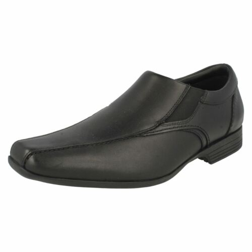 Formal Step' Nero Slip Mens Clarks 'forbes On Scarpe Sgnq7