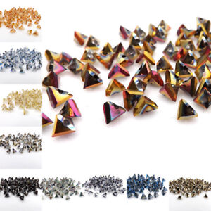 6mm-100pcs-Glass-Triangle-crystal-bead-Loose-beads-Special-bead-DIY-jewelry-Make
