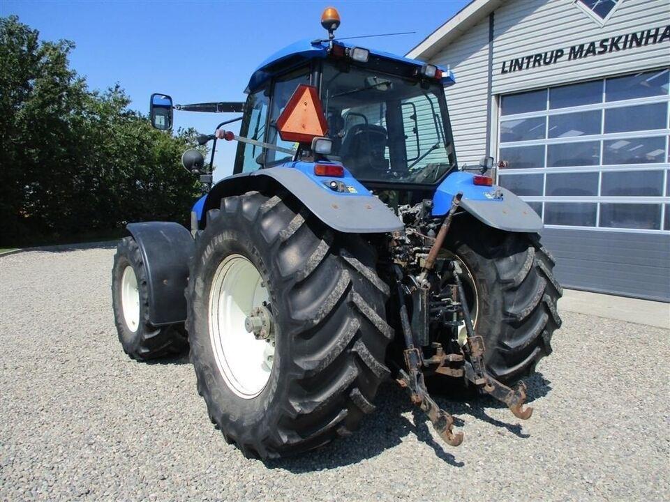 New Holland, TM 190 affjedret foraksel Med frontlift,