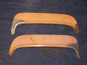 55-56-Ford-Fender-skirts-original-pair-with-scuff-shields-272-292