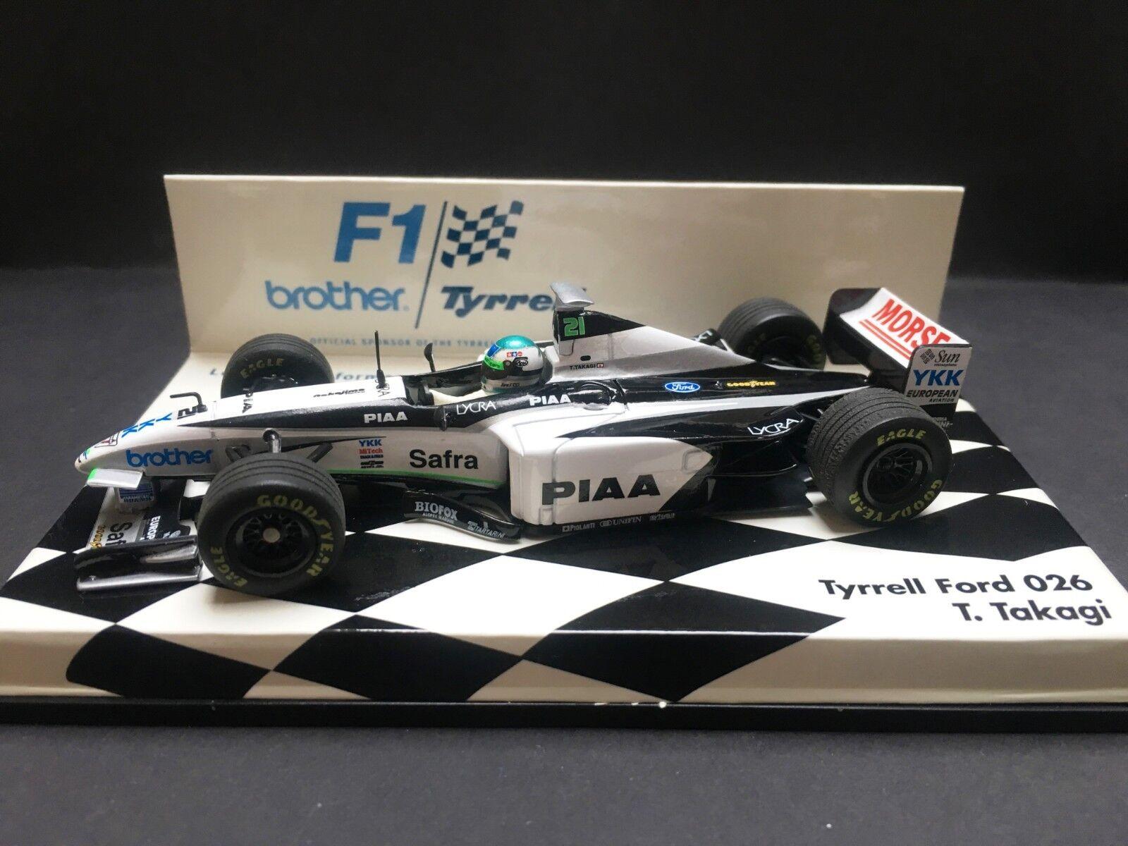 la migliore selezione di Minichamps - Toranosuke Takagi - Tyrrell - 026 026 026 - 1998 - 1 43 - Brossoher Promo  marchio in liquidazione