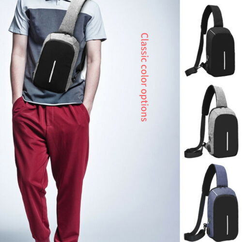Men Anti-theft  Messenger Bags Outdoor Shoulder Bags Male Summer Mini Pack