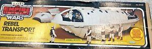 Star Wars Kenner Vintage Rebel Transport COMPLETE 82 SHIPS WORLDWIDE