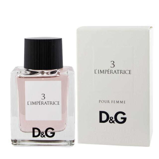 e277fffd Dolce & Gabbana Anthology L'Imperatrice Pour 3 Eau de Toilette Edt 50 Ml (