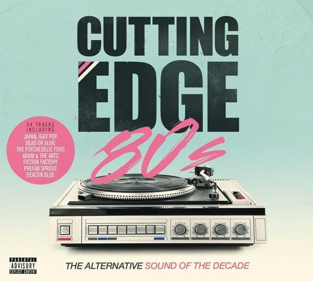 VARIOUS ARTISTS Cutting Edge 80's Double LP Vinyl BRAND NEW 2017