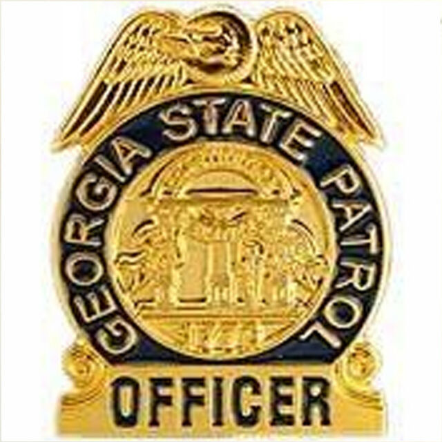 Metal Lapel Pin US 50 State Police Badge Pin Collection Georgia State  Patrol NEW