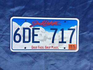 🇺🇸 US Kennzeichen Nummernschild Licenseplate USA SOUTH DAKOTA  6DE 717 🇺🇸